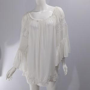 Surf Gypsy sz s boho style blouse